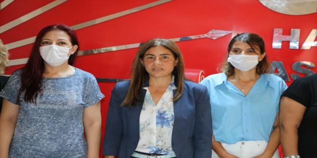 CHP'li Kadınlar: İstanbul Sözleşmesi Kırmızı çizgimizdir