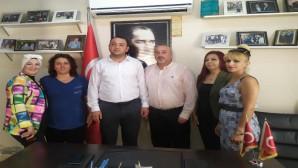 Antakya CHP'den Hatay Büyükşehir Dernekler Federasyonuna ziyaret