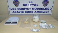 Dörtyol ilçesinde uyuşturucu imalatı yapan 3 kişi yakalandı
