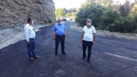 Dörtyol Belediye Başkanı Fadıl Keskin asfaltlama çalışmalarını yerinde inceledi