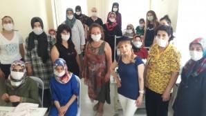 HAKA DER'in Kadın Üst giyim atölyesi çalışmalarına başladı