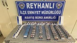Reyhanlı'da 1030 adet gümrük kaçağı sigara yakalandı