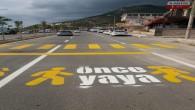 """Hatay Büyükşehir Belediyesi'nden Samandağ-Çevlik yoluna """"Önce Yaya"""" şablonu"""