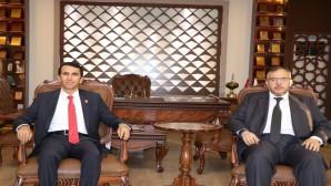 Serkan Topal ve Necmettin Çalışkan bölge sorunlarını istişare etti: Birlik olursak sorunları aşarız