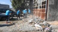 Antakya Belediyesinden Yeni Sanayi Sitesinde kapsamlı temizlik