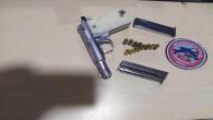 İskenderun'da Polis uygulamada  ruhsatsız tabanca ele geçirdi