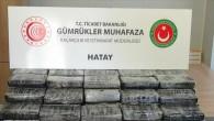 İskenderun'da 72,6 kilogram kokain ele geçirildi!