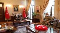 Tuğgeneral Tozak'dan Vali Doğan'a Veda Ziyareti