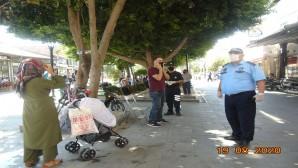 Hatay Büyükşehir Belediyesi Zabıtasından Korona Virüs denetimlerine devam