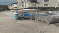 Çöp konteynerlerinde boyama ve onarım