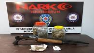 İskenderun'da uyuşturucu ticareti yapanlara operasyon