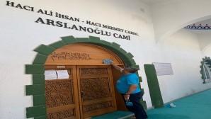 Antakya Belediyesi, ibadethaneleri temizlemeye devam ediyor