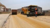 Hatay Büyükşehir Belediyesi Antakya Mobilyacılar Sitesinin yollarını yapmaya başladı