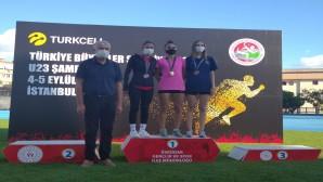 Hatay Büyükşehir Belediyespor Atletizm takımından büyük başarı