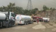 Antakya Belediyesi, Batıayaz'daki yangın  için seferber oldu