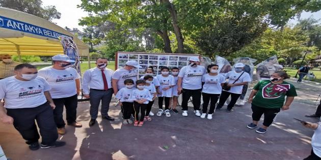 Antakya Belediyesinden Avrupa Spor haftası etkinliğine lojistik destek
