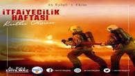 Başkan refik Eryılmaz İtfaiyeciler Haftasını kutladı