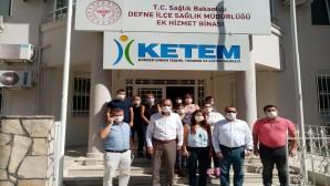 İl Sağlık Müdürü Dr. Mustafa Hambolat, Defne ilçesindeki sağlık yatırımlarını ziyaret etti