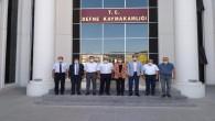 AKP Hatay Milletvekilleri Çelik ve Yayman Defne ilçesindeki yatırımları görüştü