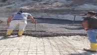 Defne Belediyesi Sinanlı Mahallesinde yolları betonladı