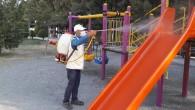 Hatay Büyükşehir Belediyesi Dezenfeksiyon çalışmalarına ara vermiyor