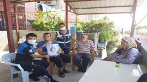 Polis'ten engelli gence ziyaret