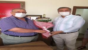 Antakya Gönüllüleri Derneğinden ASKF'ye ziyaret