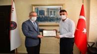 Hatay Emniyet Müdürü Yavuz'dan gazilere ziyaret