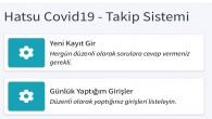 "HAT SU, Personeli için ""HAT SU Covid-19 Takip sistemini kurdu"