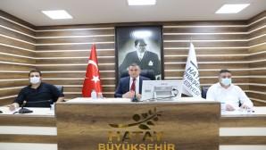 Hatay Büyükşehir Belediye Meclisi Eylül ayı toplantısını gerçekleştirdi