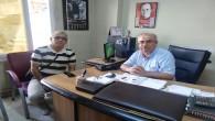 Kuryeliler Dernek Başkanı Türkmen'den  Gazetemize ziyaret