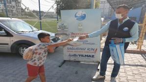 Antakya Belediyesi Maske Dağıtımlarına Devam Ediyor