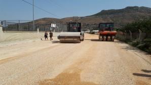 Hatay Büyükşehir Belediyesinden Samandağ Tekebaşına asfalt