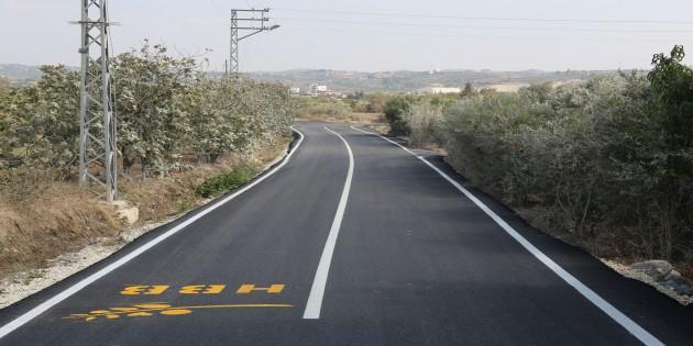 Hatay Büyükşehir Belediyesi'nden Samandağ Tekebaşına beton asfalt