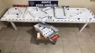Arsuz'da 510 Paket Kaçak Sigara Ele Geçirildi
