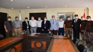 Hatay İl Emniyet Müdürü Vedat Yavuz Hataylı Gazileri Ziyaret Etti