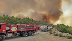 Hatay Büyükşehir Belediyesinde yangın seferberliği
