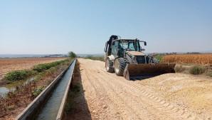 Antakya Belediyesinin yol çalışmaları tam gaz