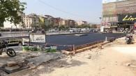 Antakya Köprübaşı'ndaki Halk otobüsleri durağı yeniden düzenleniyor