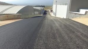 Hatay Büyükşehir Belediyesi Antakya Mobilyacılar sitesine asfalt
