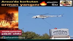 Arsuz  Hacıahmetli de yangın çıkaran şahıs yakalandı