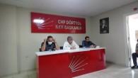 CHP İl Başkanı Parlar'dan ilçe örgütlerine ziyaret