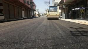 Hatay Büyükşehir Belediyesi'nden Hassa'ya Beton asfalt