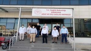 Sağlık Müdürü Dr. Hambolat'tan Kırıkhan Sağlık tesislerine ziyaret