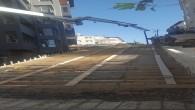 Defne Belediyesi merdivenli sokak yapımını başlattı