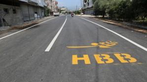 Hatay Büyükşehir Belediyesinden Samandağ Sutaşı yoluna asfalt
