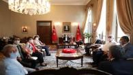 Vali Doğan'a CHP'lilerden  Nezaket Ziyareti