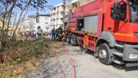 Hatay Büyükşehir Belediyesi İtfaiyesi Yangına hızla müdahale etti