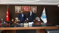 MHP Antakya İlçe Başkanı Mehmet Kanlı'dan Başkan İzzetin Yılmaz'a ziyaret