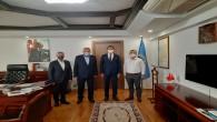 Başkan Yılmaz Vakıflar Bölge Müdürü Gökçek'i ziyaret etti: Tarih ve Medeniyetler şehri Antakya'mızın değerlerini geleceğe taşıyoruz